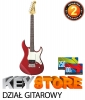 YAMAHA PACIFICA510V CAR Candy Apple Red