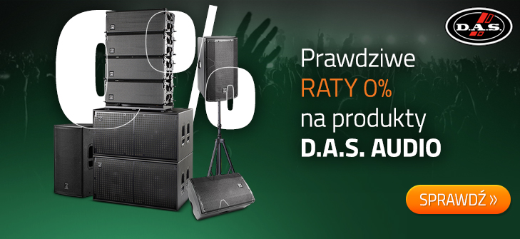 D.A.S. Audio - raty 0%