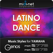 Latino Dance - Yamaha Style Expansion Pack
