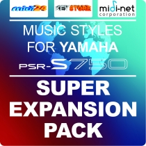 Super Expansion Pack for Yamaha PSR-S750