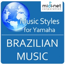 Style Expansion Packs for Yamaha - Brazilian Music