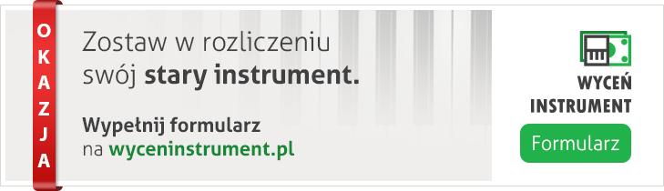 Wyceń Instrument - Formularz